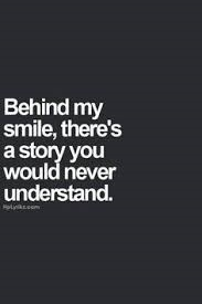2 behind smile is a story
