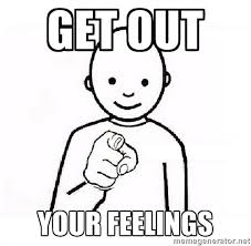 8 get out your feelings