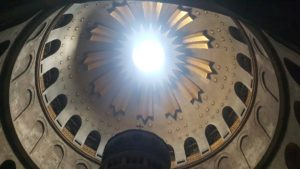 Hope always rises up in the Light above the Holy Sepulchre, the Empty Tomb of our Risen Lord & savior Jesus Christ!