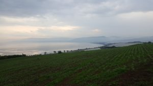 View from the Mount over the Sea of Galilee...