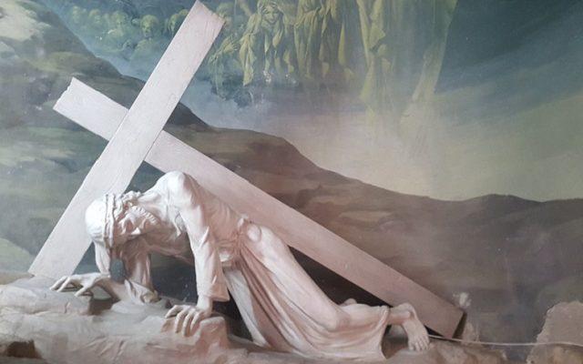 Biblical Moment 22: Good Friday: Jesus' Way of the Cross; Via Dolorosa; Old City Jerusalem.