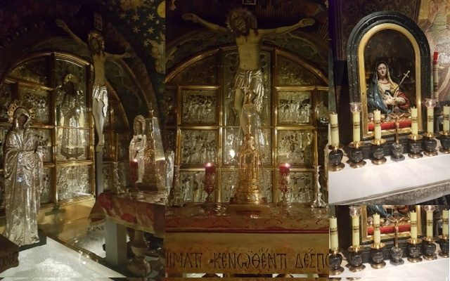 Biblical Moment 9: In the Old City Visiting Calvary in the Church of the Holy Sepulchre…
