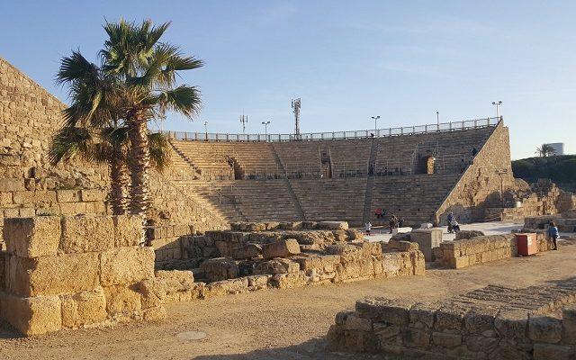 Biblical Moment 5:   Saint Peter Converts Cornelius to Christianity at Caesarea!