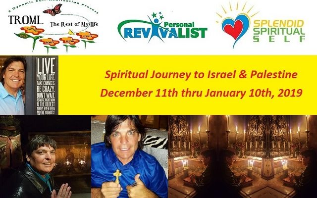 Spiritual Journey to Israel & Palestine…