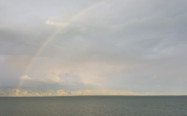 Biblical Moment 16: A Sign of God's Covenant with Us: A Rainbow Over the Sea of Galilee!