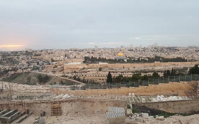 """Biblical Moment 7:  """"I have chosen Jerusalem, that My Name may be There""""—God"""
