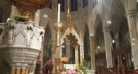 2019 East Coast Spiritual Journey: Celebrating Mass at St. Patrick's Cathedral in NYC…
