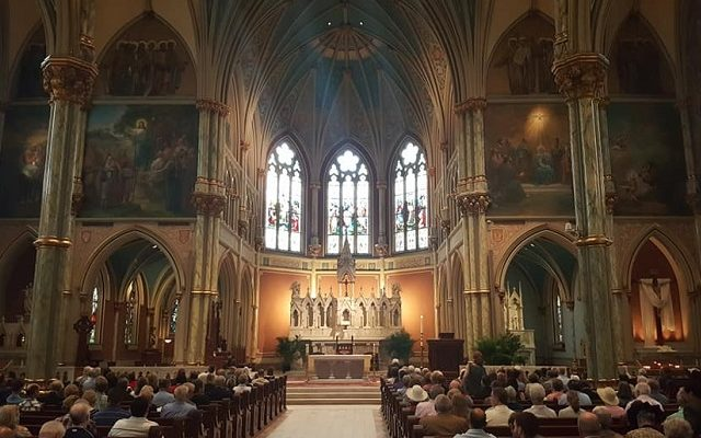 2019 ECSJ:   Celebrating Mass in St. John the Baptist Cathedral in Savannah, Georgia!