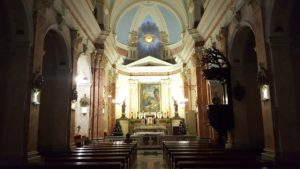 Inside St. Peter's Church... The Holy Spirit is upon us!