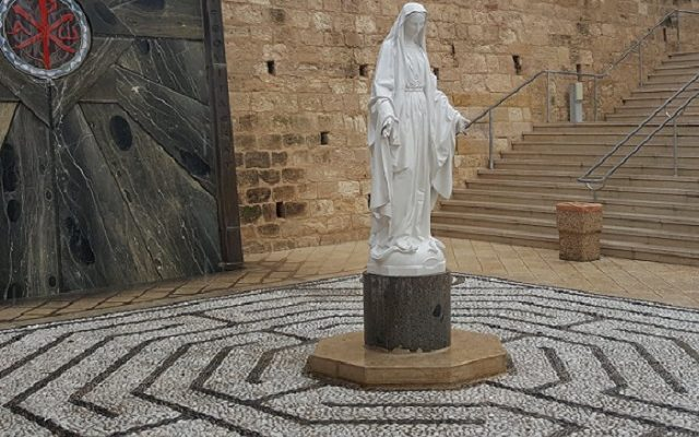 Biblical Moment 13: Nazareth's Church of the Annunciation: Celebrating the Virgin Mary!!!