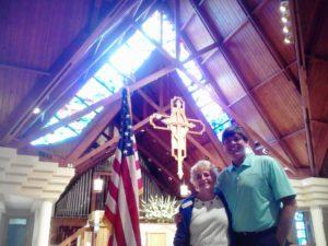 Worshiping at Christ Church...