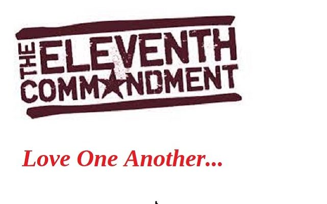 Biblical Moment: Jesus Proclaims New 11th Commandment: Love One Another!