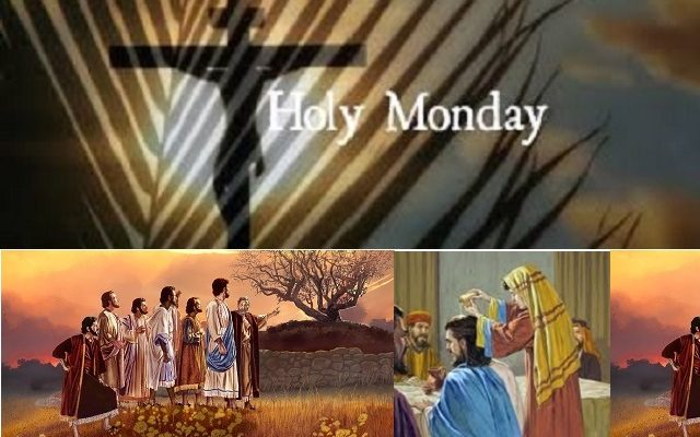 Biblical Moment: The Events of Holy Monday during Holy Week Leading Up to Easter!