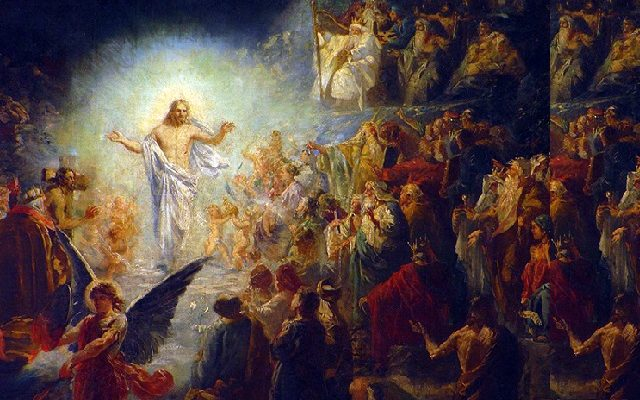 Biblical Moment: Holy Saturday; Jesus does Not just Lay in Tomb; He Frees the Souls in Hell!