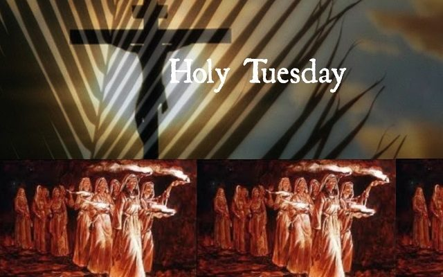 Biblical Moment: The Events of Holy Tuesday during Holy Week Leading Up to Easter!
