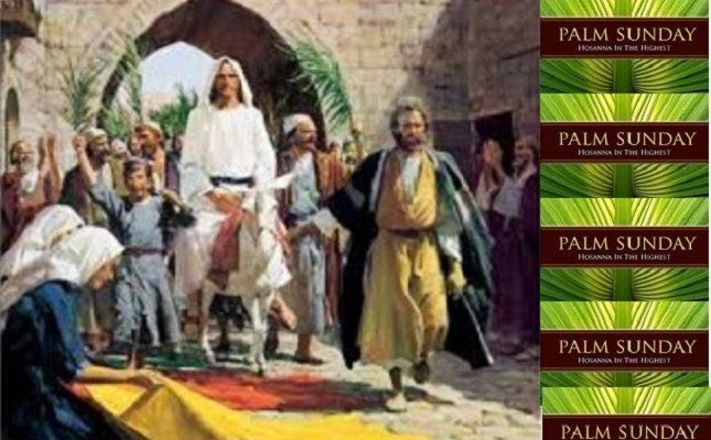Biblical Moment: Jesus Entering Jerusalem on Pam Sunday!