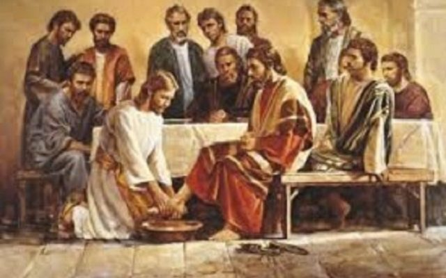 Biblical Moment: Jesus Washes the Feet of His Disciples During the Last Supper!