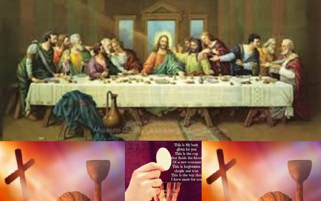 Biblical Moment: Holy Thursday; The Last Supper & New Covenant with Jesus!