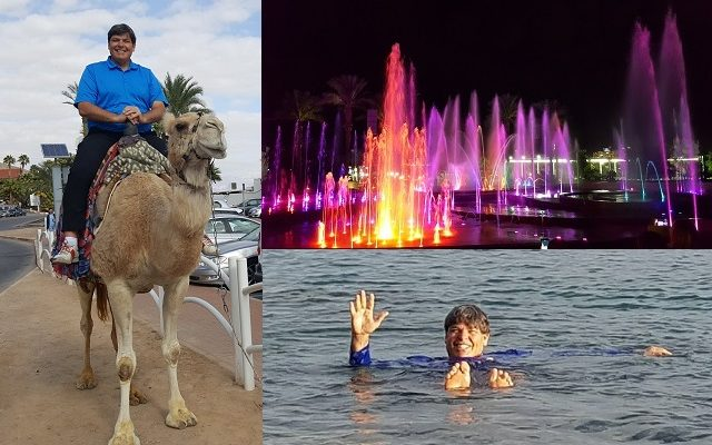 Day 16: Spending the Day in Eilat; Swimming in the Red Sea; Riding a Camel!