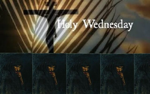 Biblical Moment: The Events of Holy Wednesday during Holy Week Leading Up to Easter!