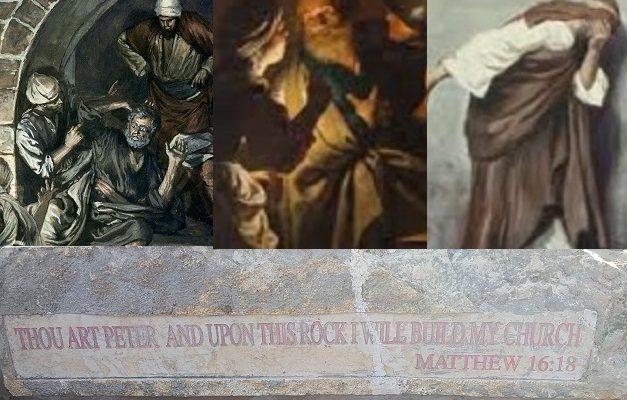 Biblical Moment: Peter, Future Rock of the Church, Denies Jesus Three Times!